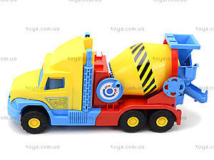 Детская бетономешалка «Super Truck», 36590, детские игрушки