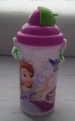 Детская бутылка для воды «Принцесса», 704145