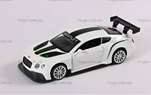 Детская металлическая машинка Bentley Continental GT3, 67319