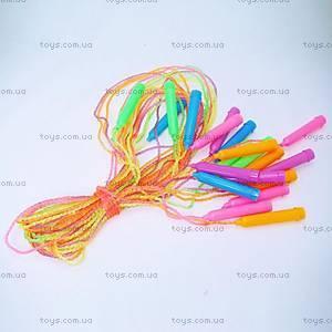 Детская цветная скакалка, BT-JR-0008