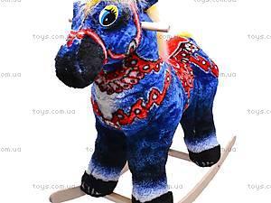 Детская деревянная качалка «Лошадь Ветерок», 40056-5