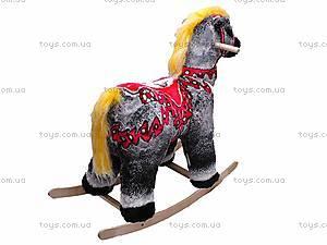 Детская деревянная качалка «Лошадка», 40050-3, фото