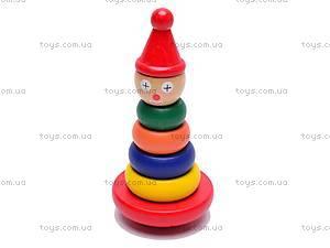 Детская деревянная пирамида, 2012-28, купить