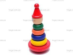 Детская деревянная пирамида, 2012-28
