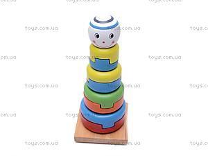 Детская деревянная пирамидка, 2011-78