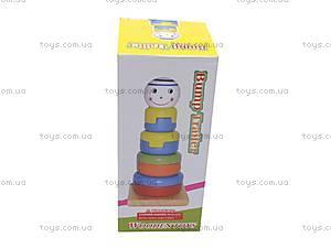 Детская деревянная пирамидка, 2011-78, отзывы