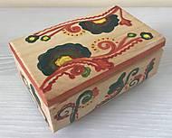Детская деревянная шкатулка с узорами, 172018, купить