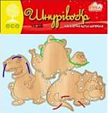 Детская Деревянная шнуровка «Динозавры», 76966, отзывы