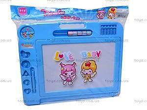 Детская доска для рисования с печатями, 887-1, магазин игрушек
