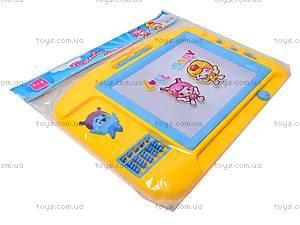 Детская доска для рисования со счетами, 887-2, купить