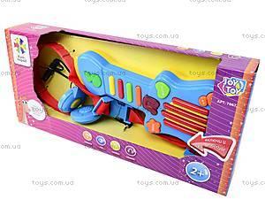 Детская гитара с наушниками, 7067