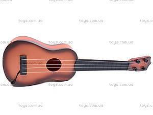 Детская гитара со струнами, 270А-7