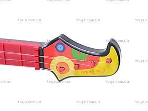 Детская гитара, со струнами, 26088A/B/6608, купить