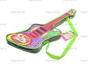 Детская гитара, со струнами, 26088A/B/6608, отзывы