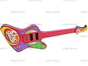 Детская гитара, со струнами, 26088A/B/6608