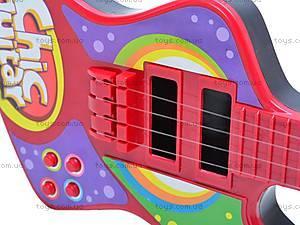 Детская гитара, со струнами, 26088A/B/6608, цена