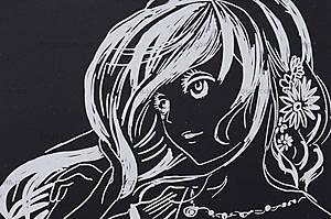 Детская гравюра «Девушка с цветами в волосах», 7018-31, отзывы