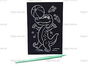 Детская гравюра «Крокодил», 7017-25, фото