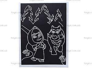 Детская гравюра «Маша и волк», 7009-15б, фото
