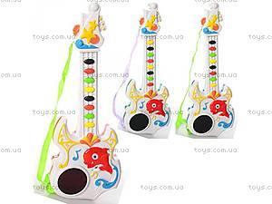Детская гитара 3D светом,