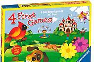 Детская игра 4 в 1, 22185-Rb, фото