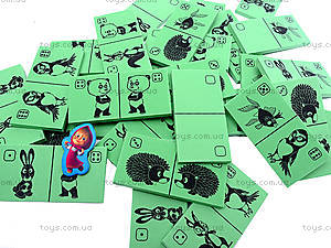 Детская игра «Домино», VT210201, фото