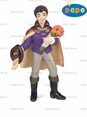Детская игровая фигурка «Принц с букетом», 38820