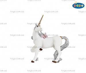 Детская игровая фигурка «Серебристый единорог», 39038