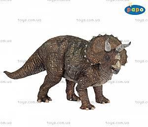 Детская игровая фигурка «Трицератопс», 55002