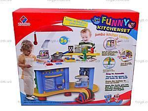Детская игровая кухня, ZB-6006B, игрушки
