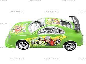 Детская игрушечная машина Ben 10, 811, детские игрушки
