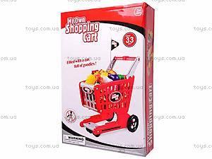 Детская игрушечная тележка, 6619B, купить
