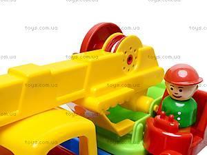 Детская игрушка «Автокран», С-80-Ф, цена