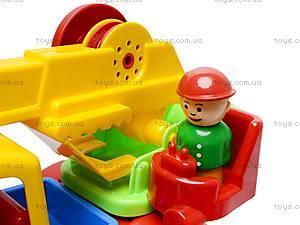 Детская игрушка «Автокран», С-80-Ф, игрушки
