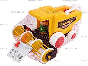 Детская игрушка «Комбайн», С-86-Ф