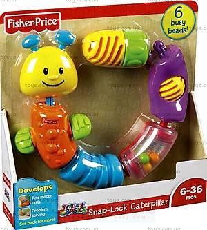 Детская игрушка-конструктор «Гусень», W9834