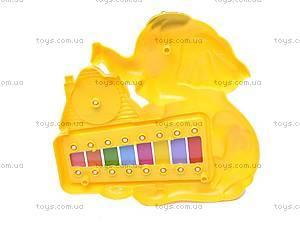 Детская игрушка «Ксилофон», с часами, 8989B1/C1, купить