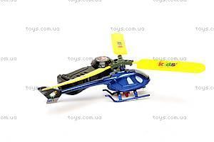 Детская игрушка «Вертолет», с запуском, 898-1, фото
