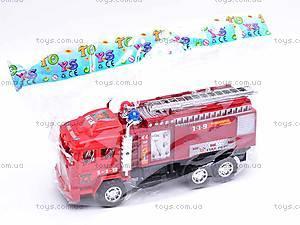 Детская инерционная машина «Пожарка», 6010, купить