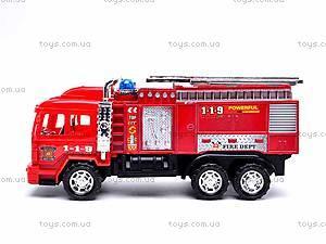 Детская инерционная машина «Пожарка», 6010, фото