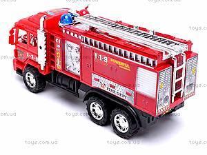 Детская инерционная машина «Пожарка», 6010, цена
