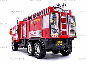 Детская инерционная машина «Пожарка», 6010, игрушки