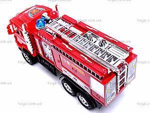 Детская инерционная машина «Пожарка», 6010, детские игрушки