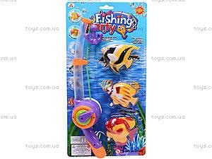 Детская интерактивная рыбалка, 3 рыбки, 2154A