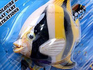 Детская интерактивная рыбалка, 3 рыбки, 2154A, фото