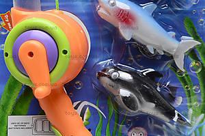 Детская интерактивная рыбалка, 4 рыбки, 2156B, toys
