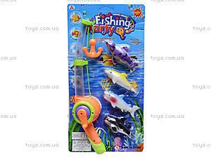 Детская интерактивная рыбалка, 4 рыбки, 2156B