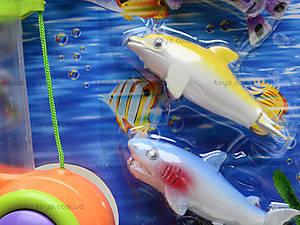 Детская интерактивная рыбалка, 4 рыбки, 2156B, іграшки