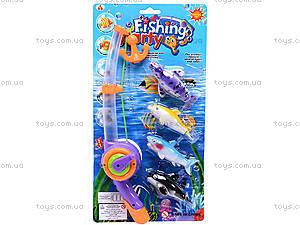 Детская интерактивная рыбалка, 4 рыбки, 2156B, купить