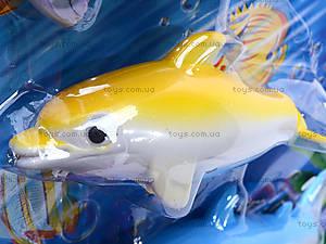 Детская интерактивная рыбалка, 4 рыбки, 2156B, детские игрушки